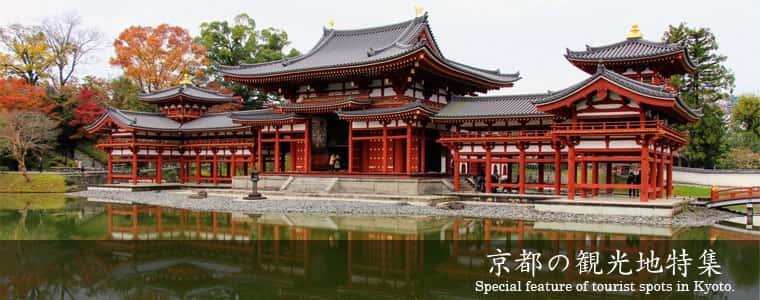 京都の観光地特集 Special feature of tourist spots in Kyoto.