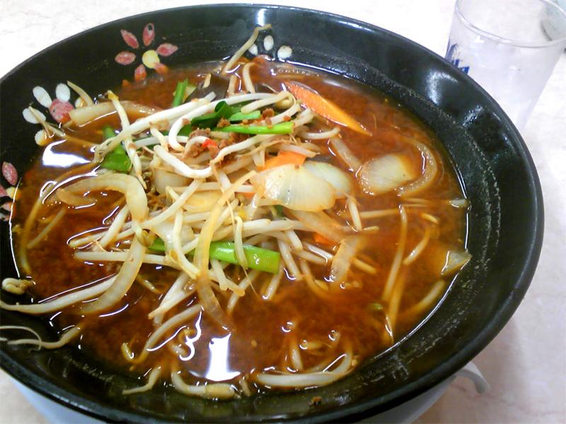 餃子の王将宝ヶ池店の味噌ラーメン