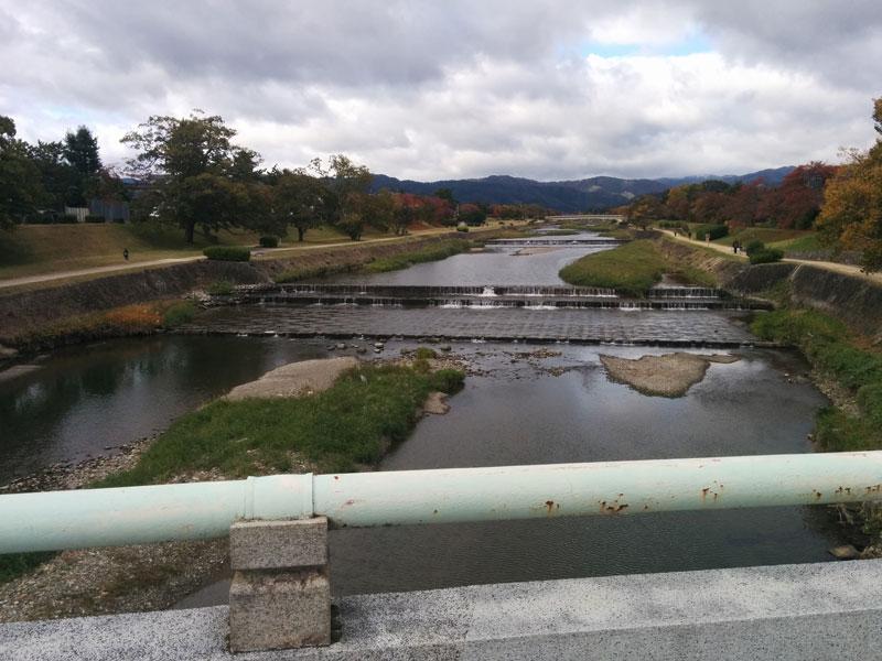 葵橋からの眺め
