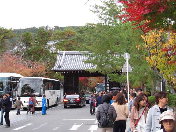 南禅寺の参道