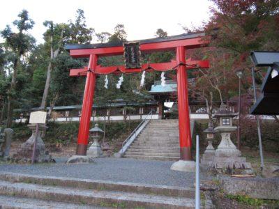 月読神社の鳥居