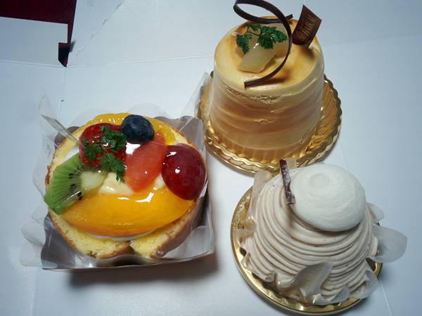 下鴨バイカルのショートケーキ