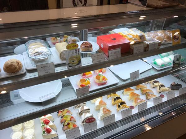 前田珈琲のケーキ