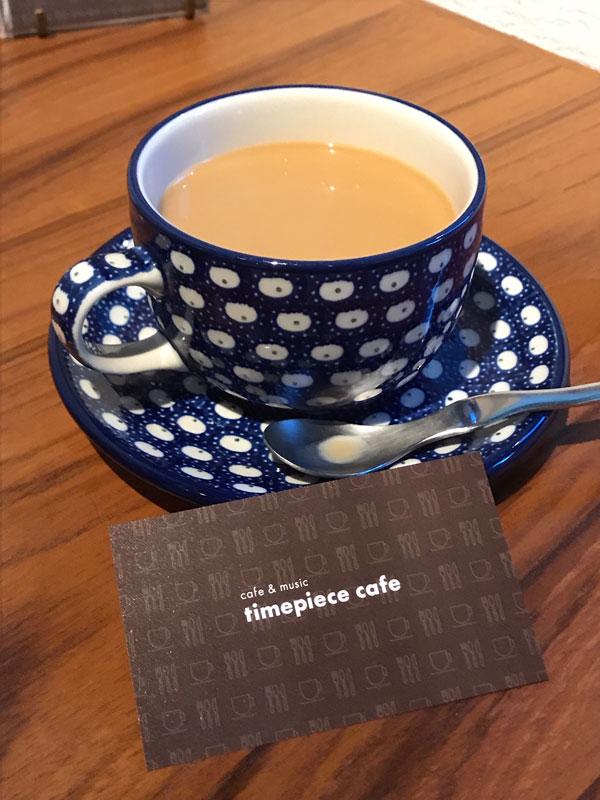 timepiece cafeのコーヒー
