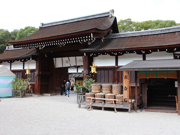 下鴨神社の祈祷所