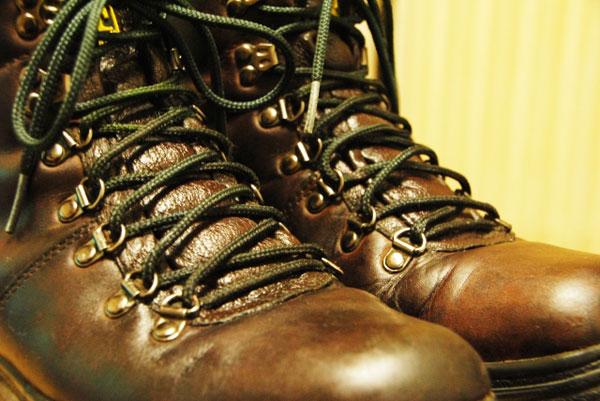 アンダーラップの靴紐の写真2