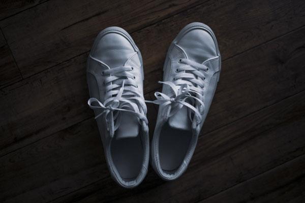 オーバーラップの靴紐の写真1