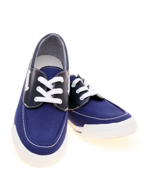 オーバーラップの靴紐の写真2