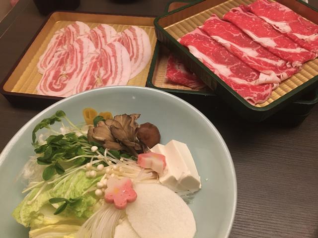 しゃぶ禅のお肉