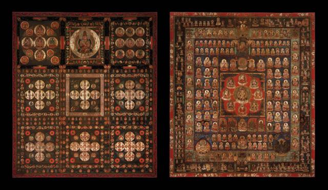 両界曼荼羅図