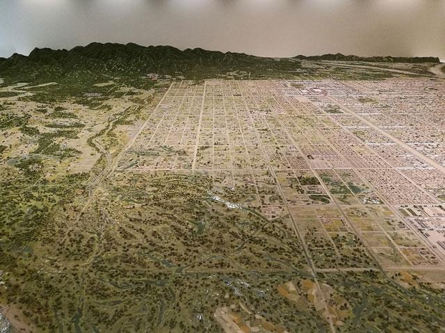 平安京復元模型