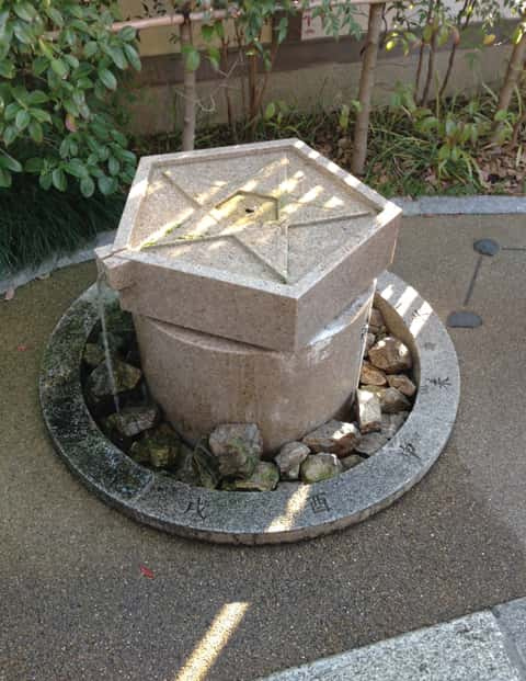晴明神社の井戸