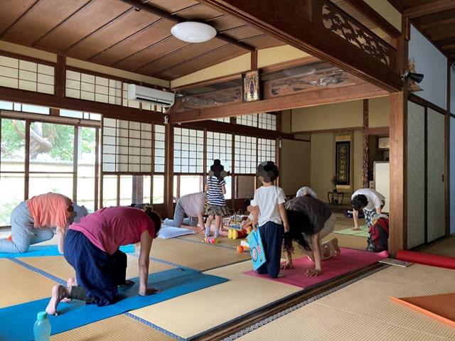 yoga風景