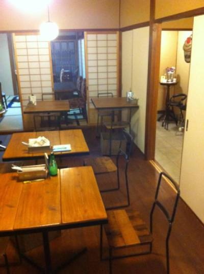 町家カフェ ラインベックの店内写真
